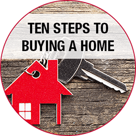 10 steps to buying a home button