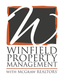 Winfield Property Management with McGraw Realtors Logo