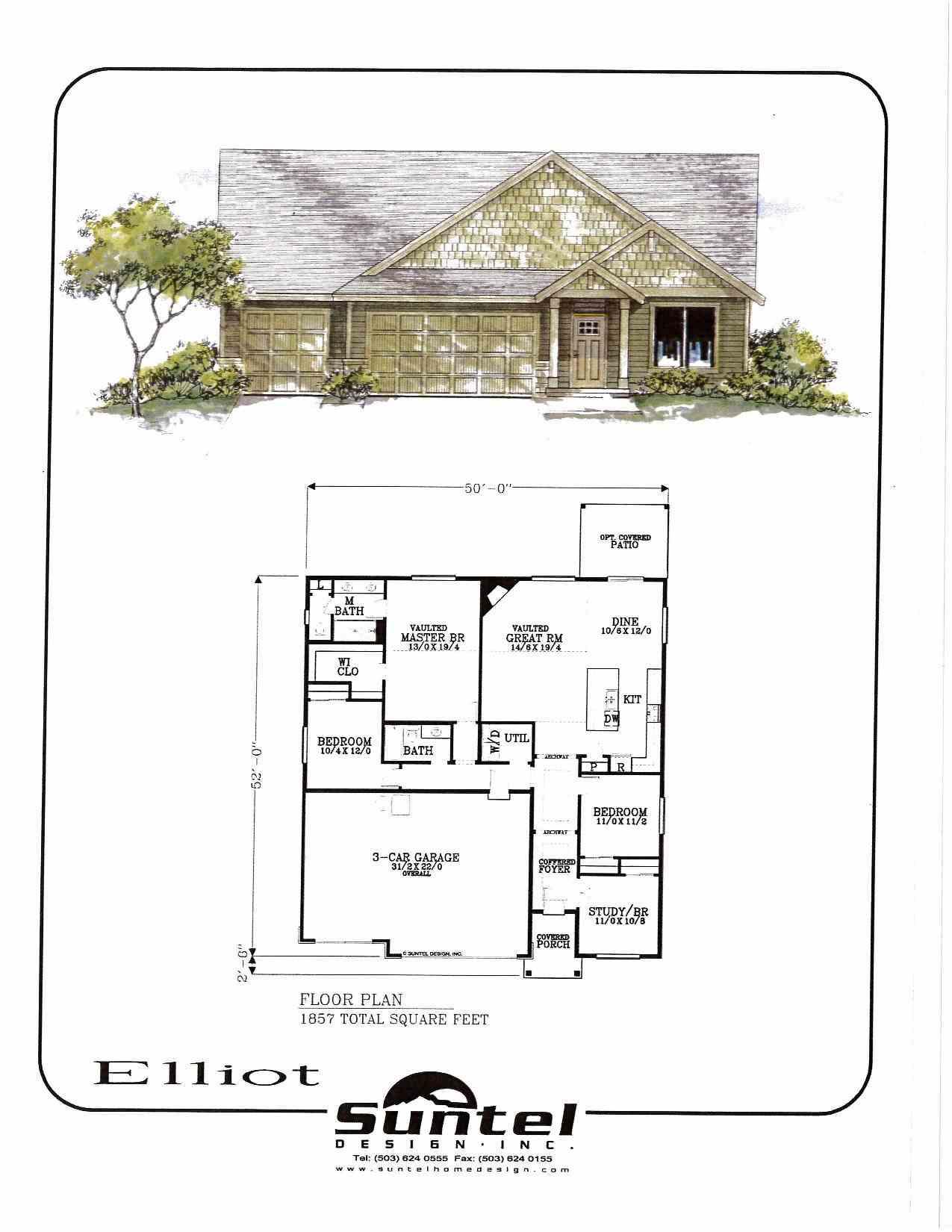 Elliot Floor Plan JR Meadows