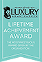 Luxury Lifetime Achievement Award