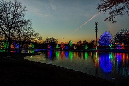 Christmas Lights at Sar-Ko-Par Trails Park