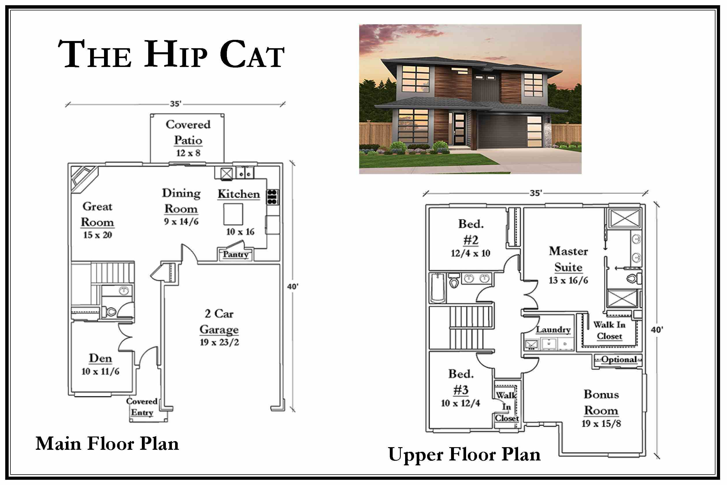 Kemmer Summit Hip Cat Floorplan