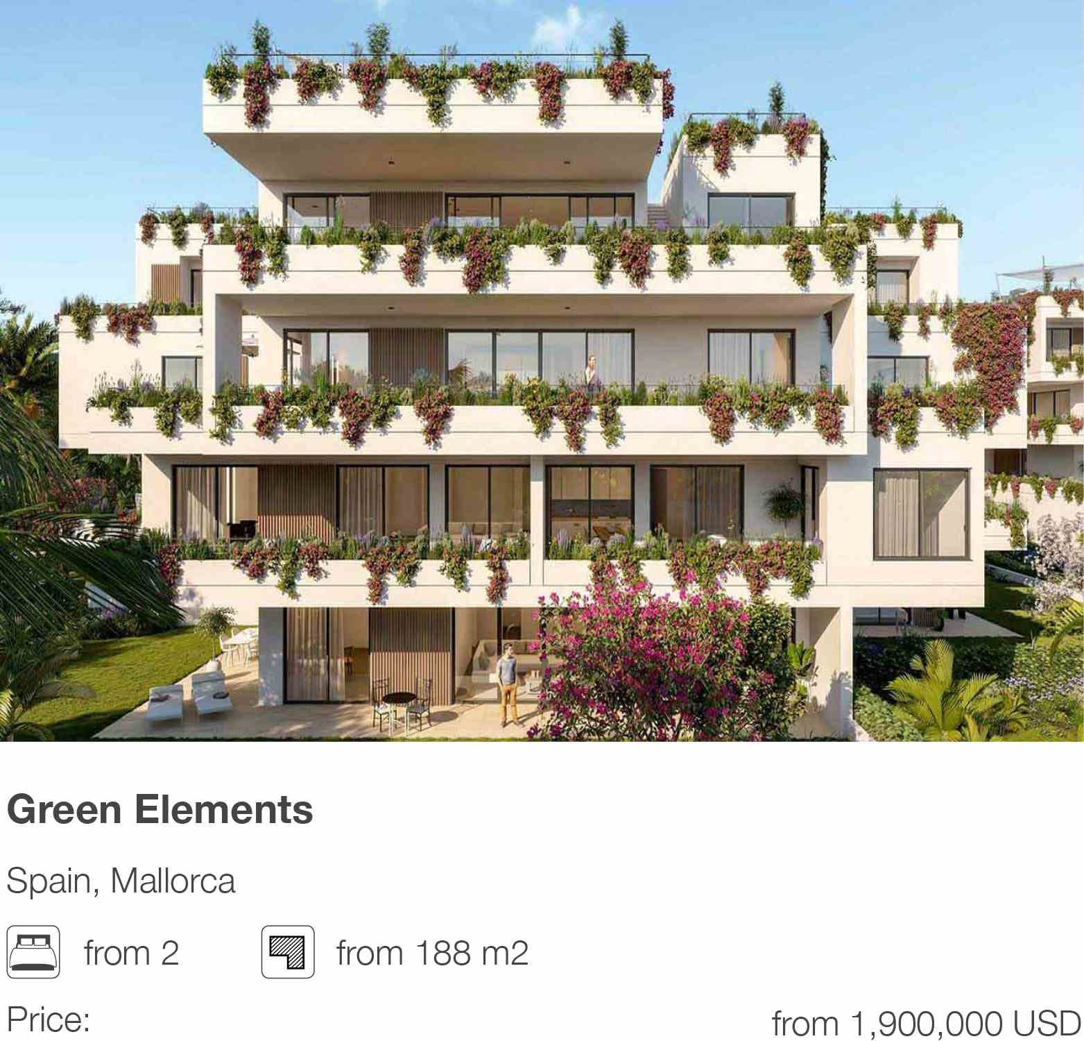 Green Elements development in Mallorca, Spain