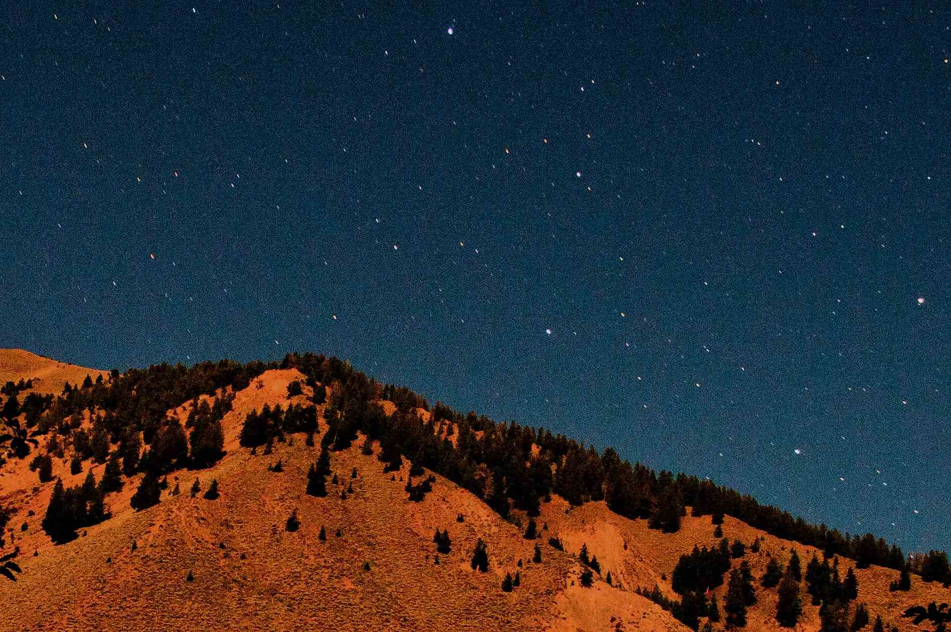 Sun Valley Dark Sky Stars