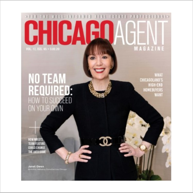 Chicago Agent Mag cover