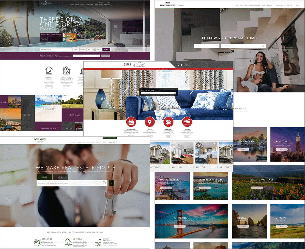Custom-Built Website examples