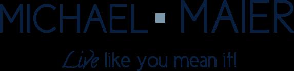Michael Maier logo Live like you mean it
