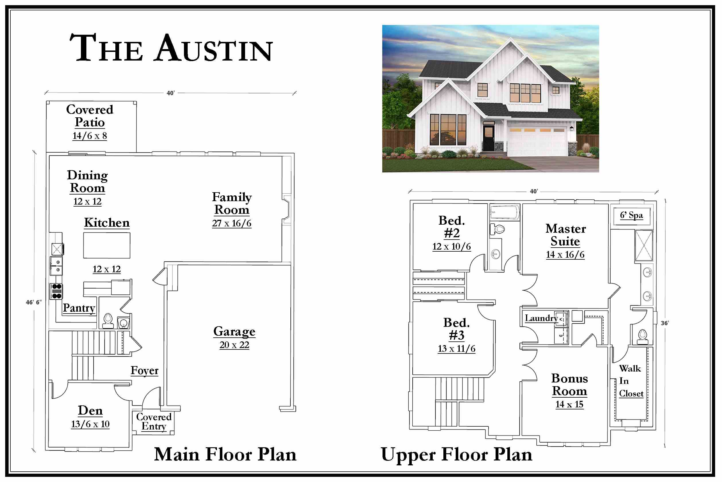 Kemmer Summit Austin Floorplan