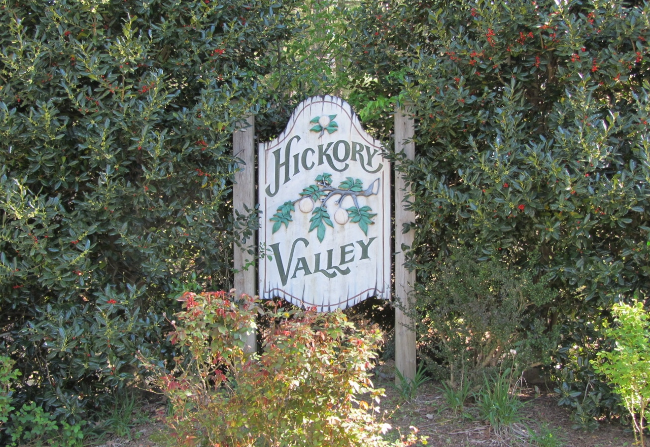 Hickory Valley Subdivision