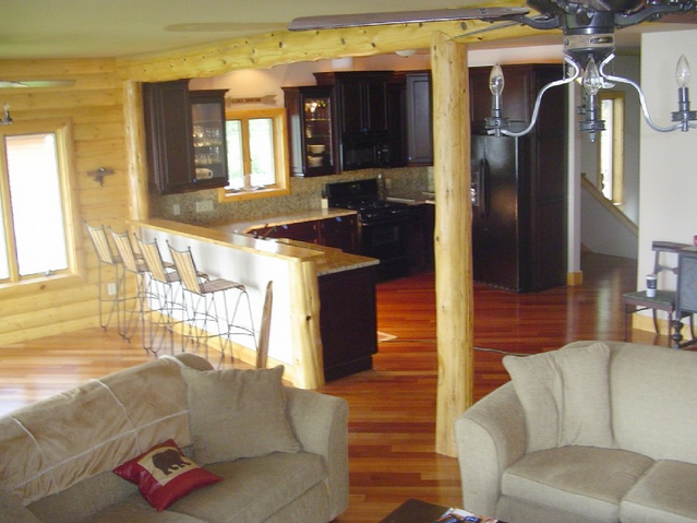 Cedar Lake Log Home 8