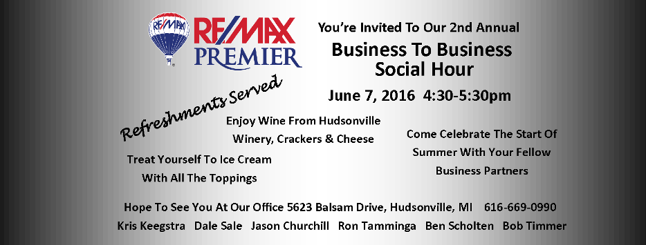 Business Mixer Invitation