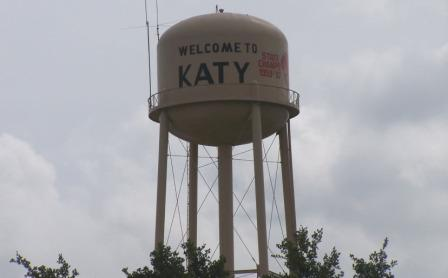 Katy water tower