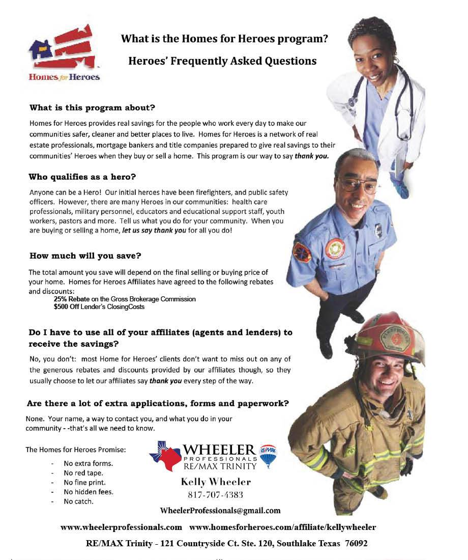 Homes For Heroes Home Buying Savings