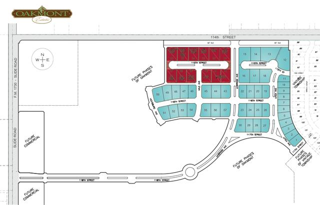 Oakmont Subdivision Plan