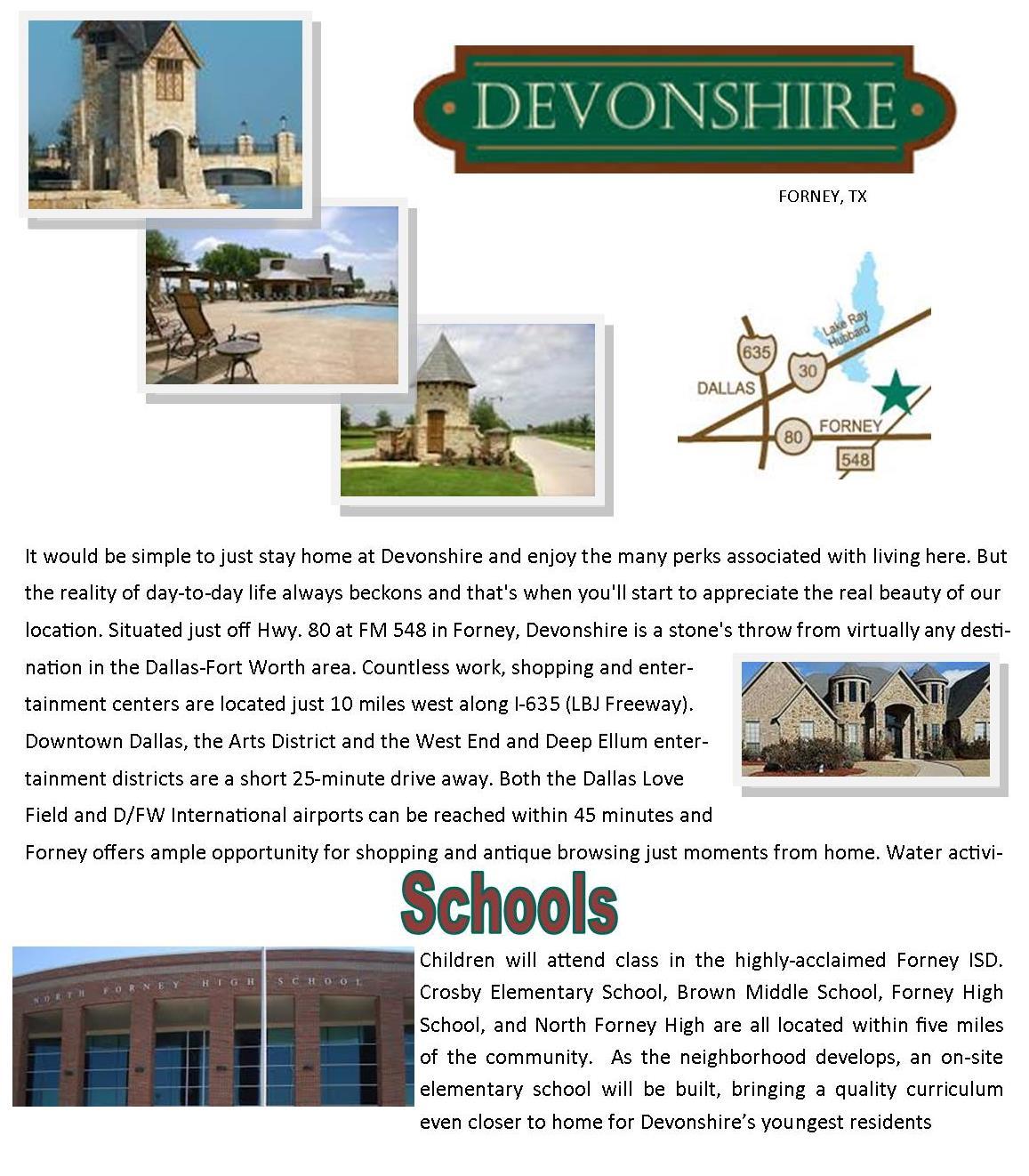 Devonshire Webpage