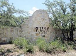 Retablo Ranch Entrance