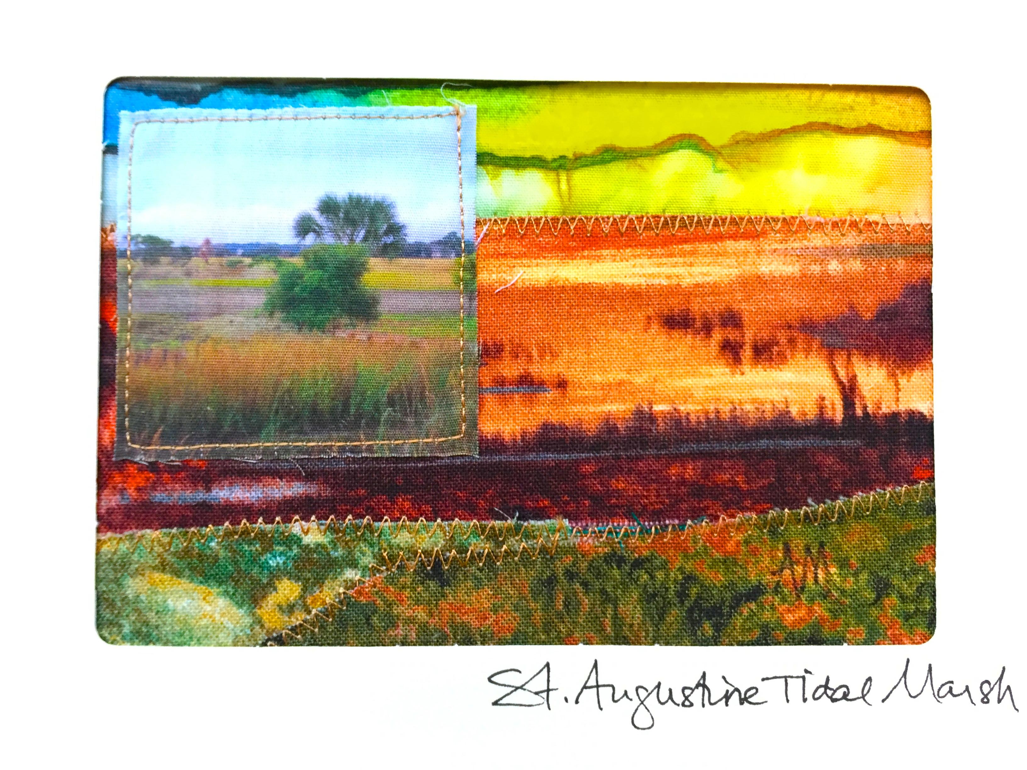 Quilt Card 5 - Marsh
