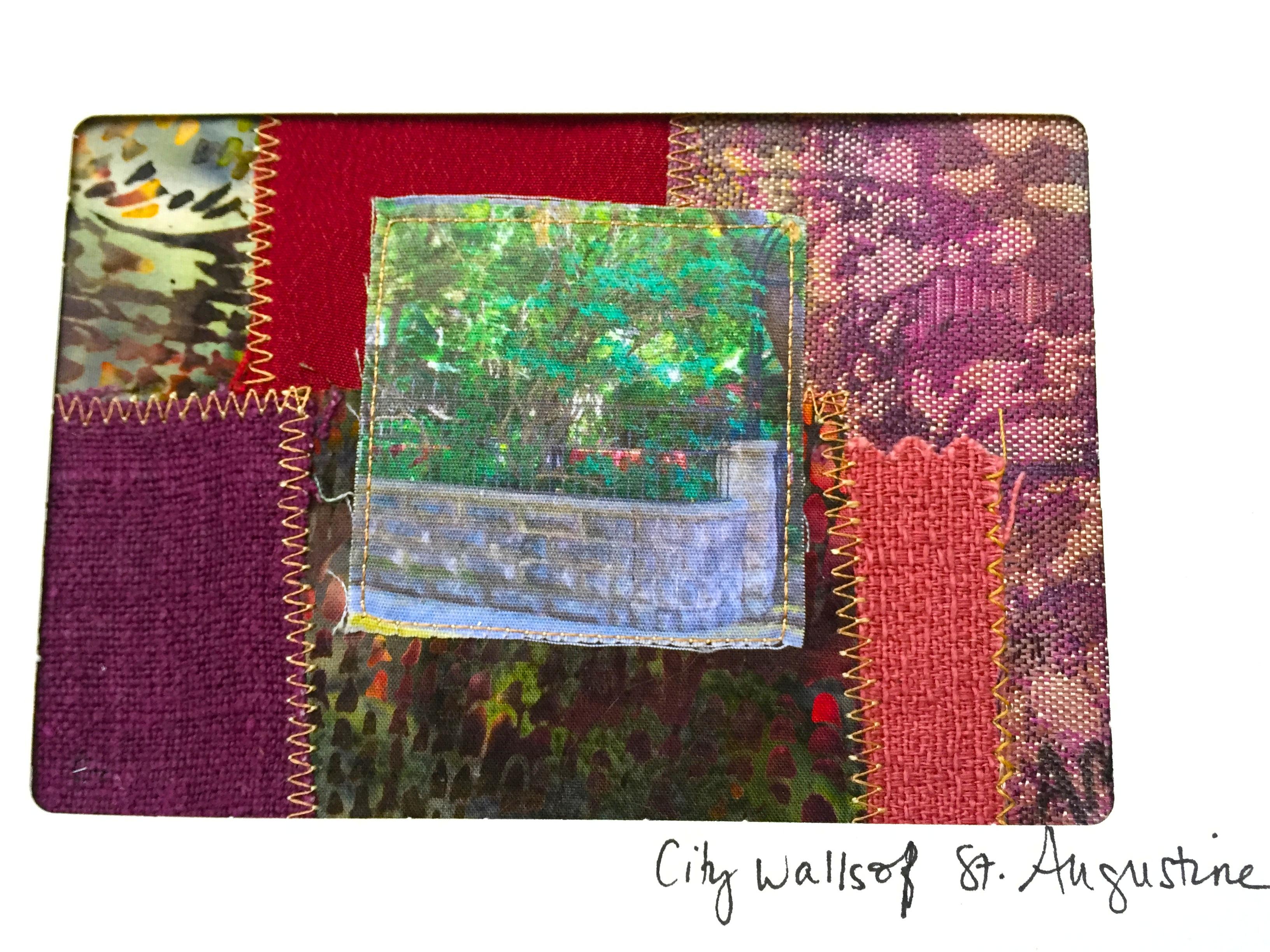 Quilt Card 6 - street scenes