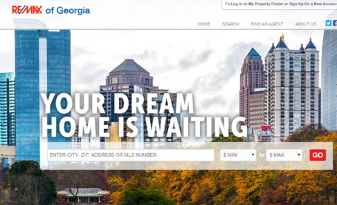 Metro Atlanta Georgia Online Home Marketing by RE/MAX