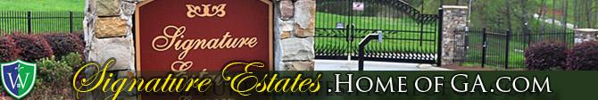 Signature Estates - Custom Gated Estate Home building lots