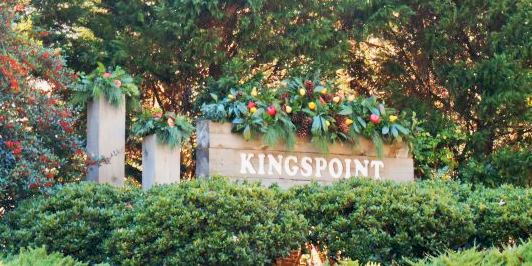 Kingspoint Sign