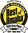 Omaha Magazine's Best of Omaha 2016 Winner