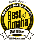 Omaha Magazine's Best of Omaha 2017 Winner