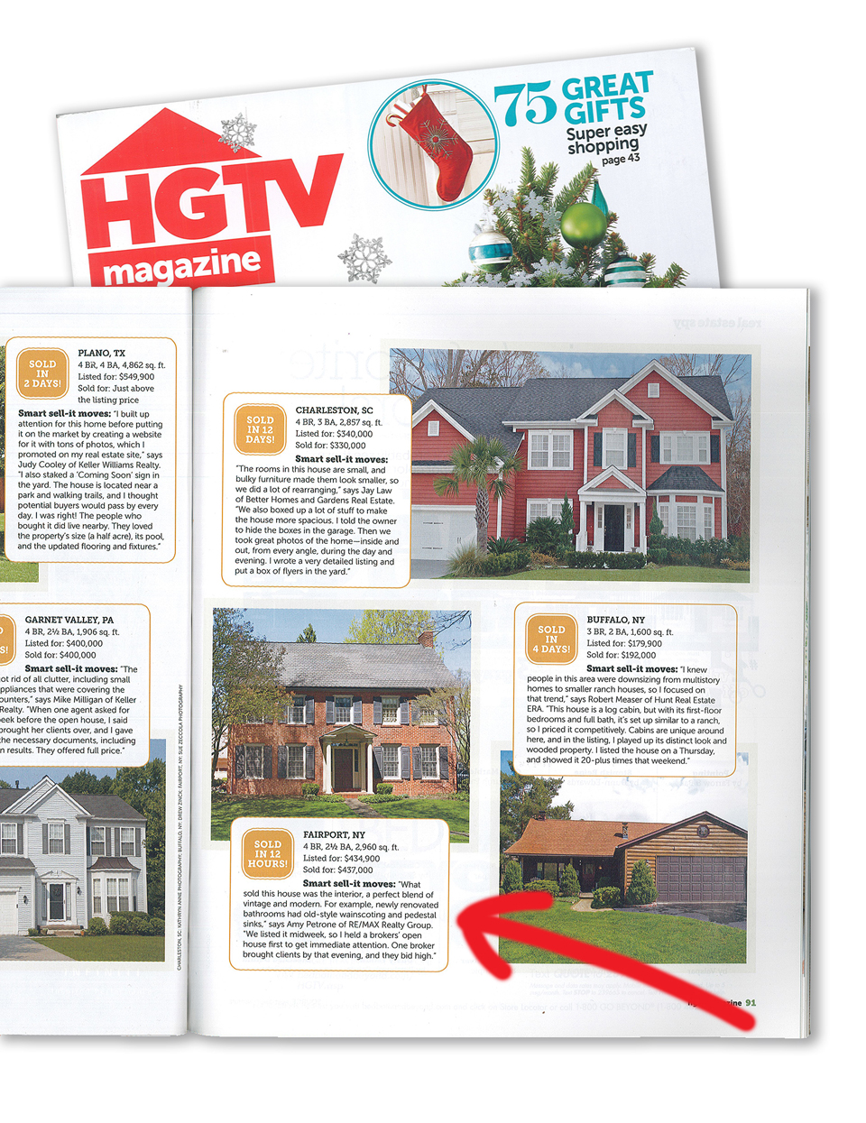 HGTV News Article