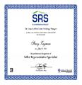 SRS Certificate