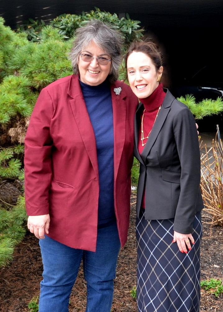 Linda Ratushenko & Stacy
