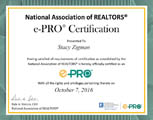 e-PRO Certification