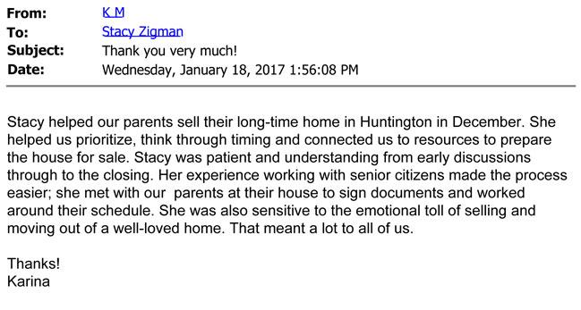 Karina testimonial letter