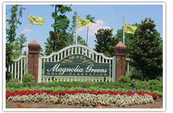 driving through todays bustling commercial corridor in leland the entrance to magnolia greens is a gentle nod to the attainment of a lifestyle most