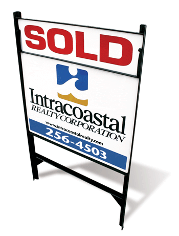 Intracoastal Realty Sold Sign