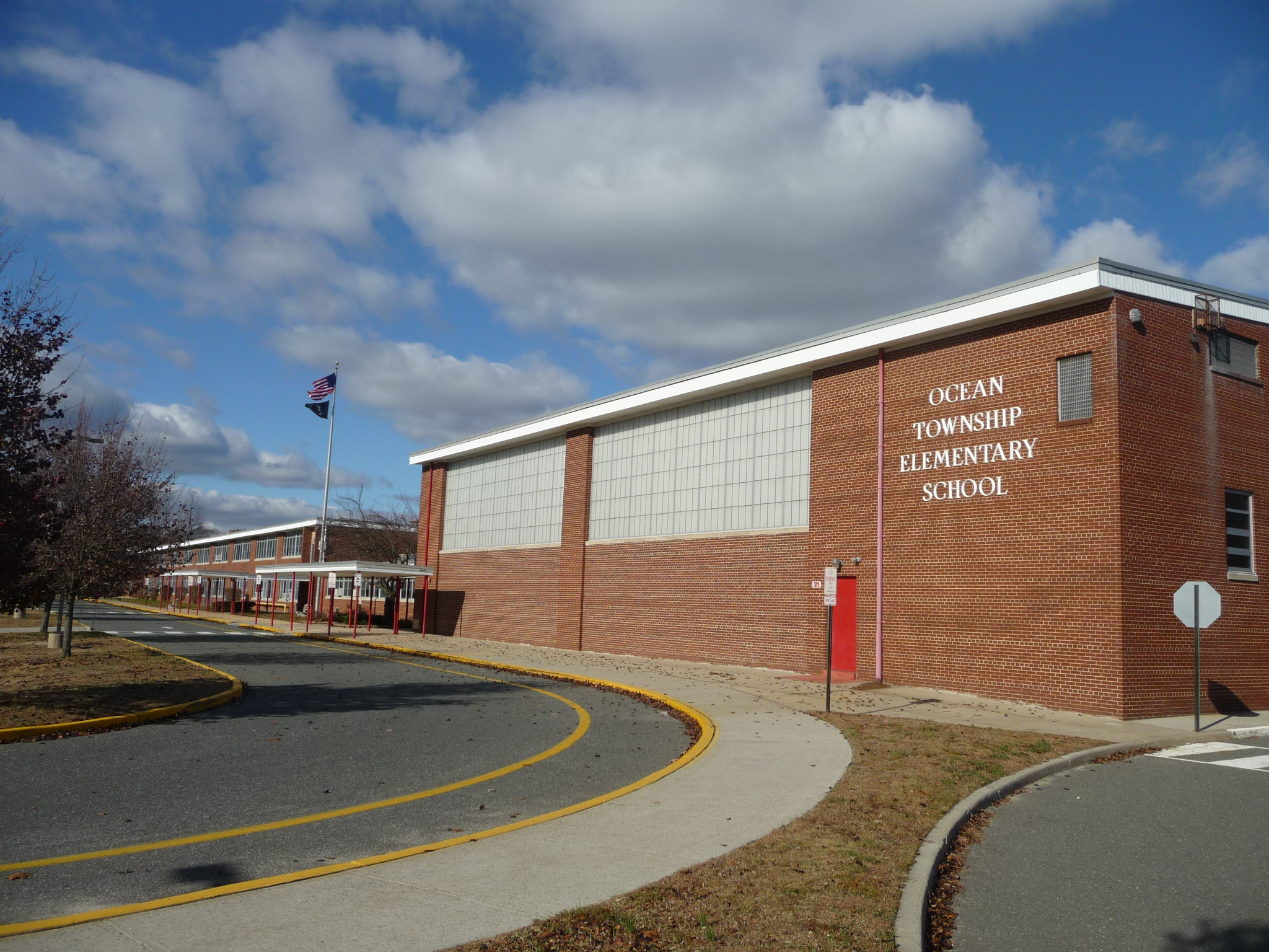The Ocean Township Elementary School is on Dow Avenue in Oakhurst NJ