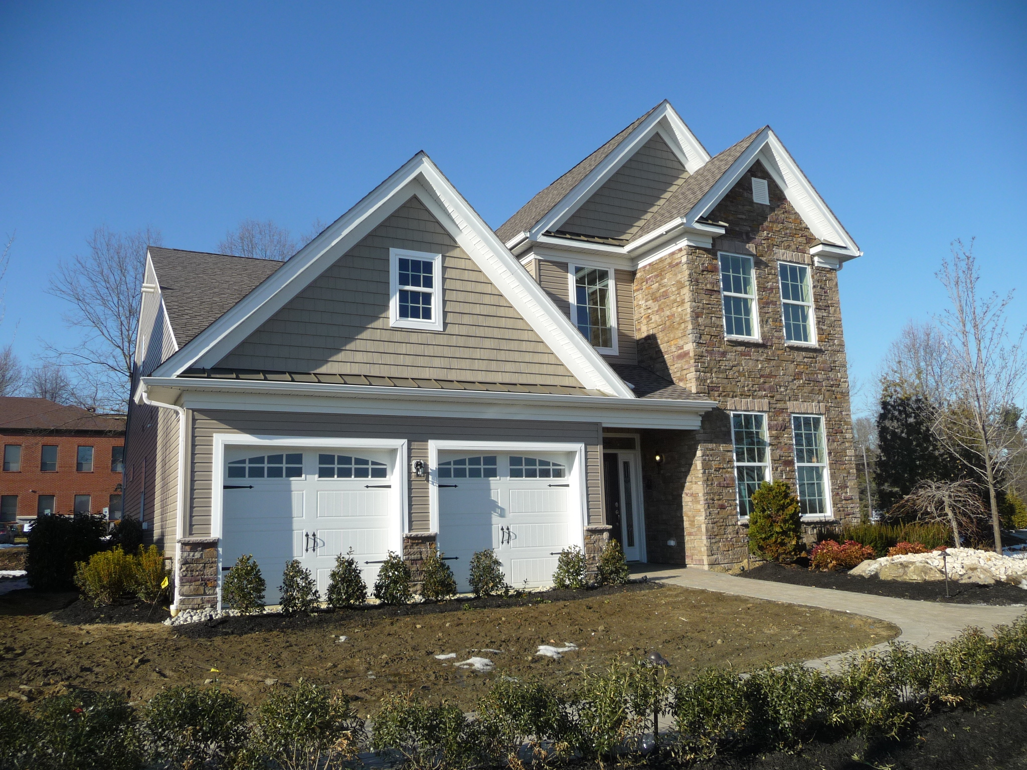 One of the models at Regency at Trotters Creek in Tinton Falls NJ