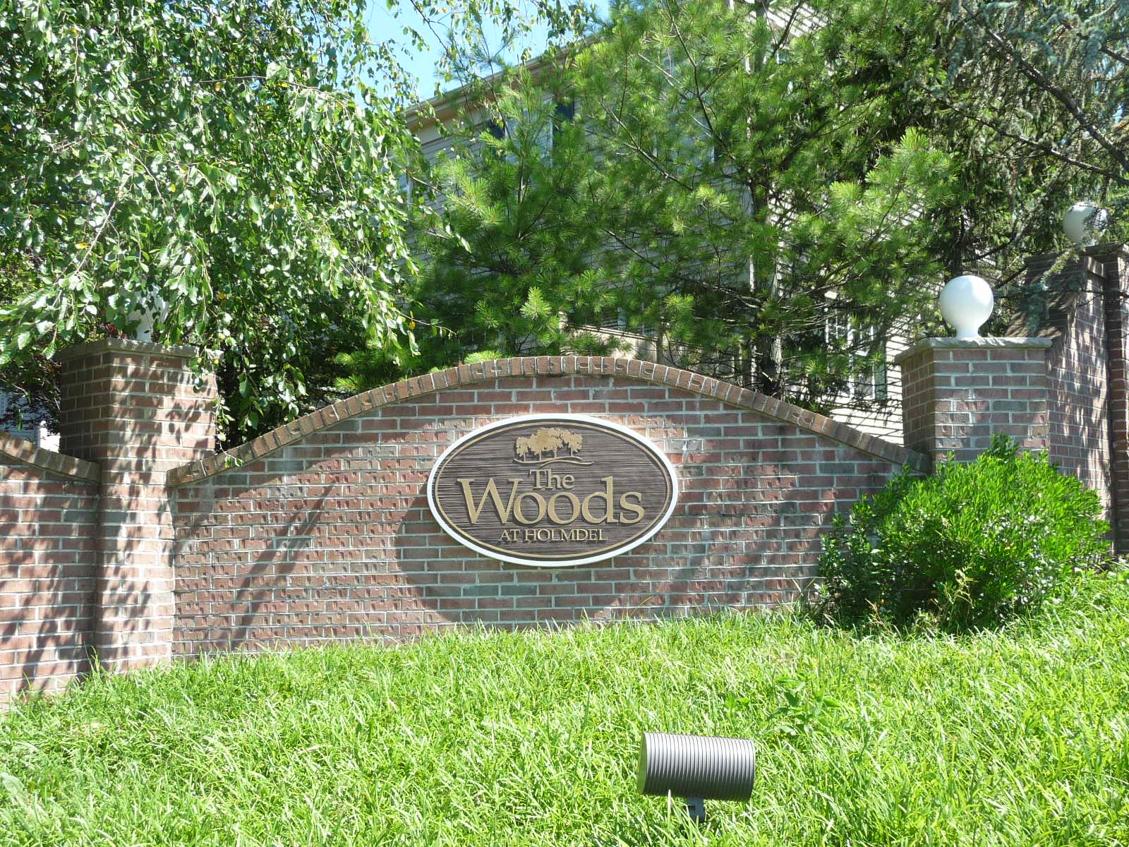 The Woods at Holmdel is an upscale townhouse community off of Laurel Avenue.
