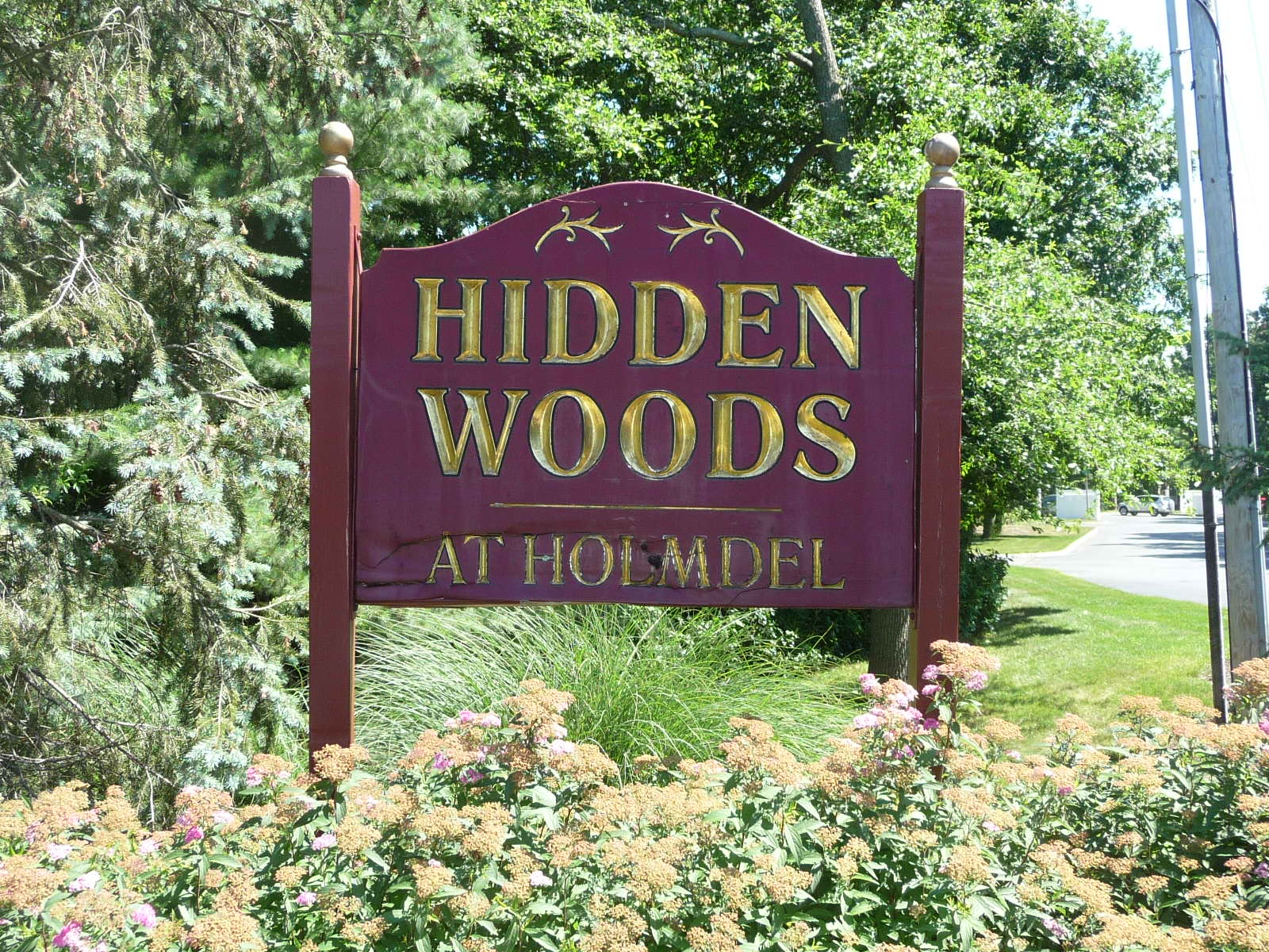 Hidden Woods condos are on Lexington Court in Holmdel, just off of Middle Road