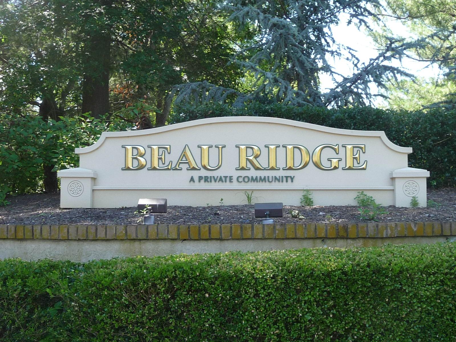 Beau Ridge condos are in Holmdel NJ just off of Laurel Avenue.