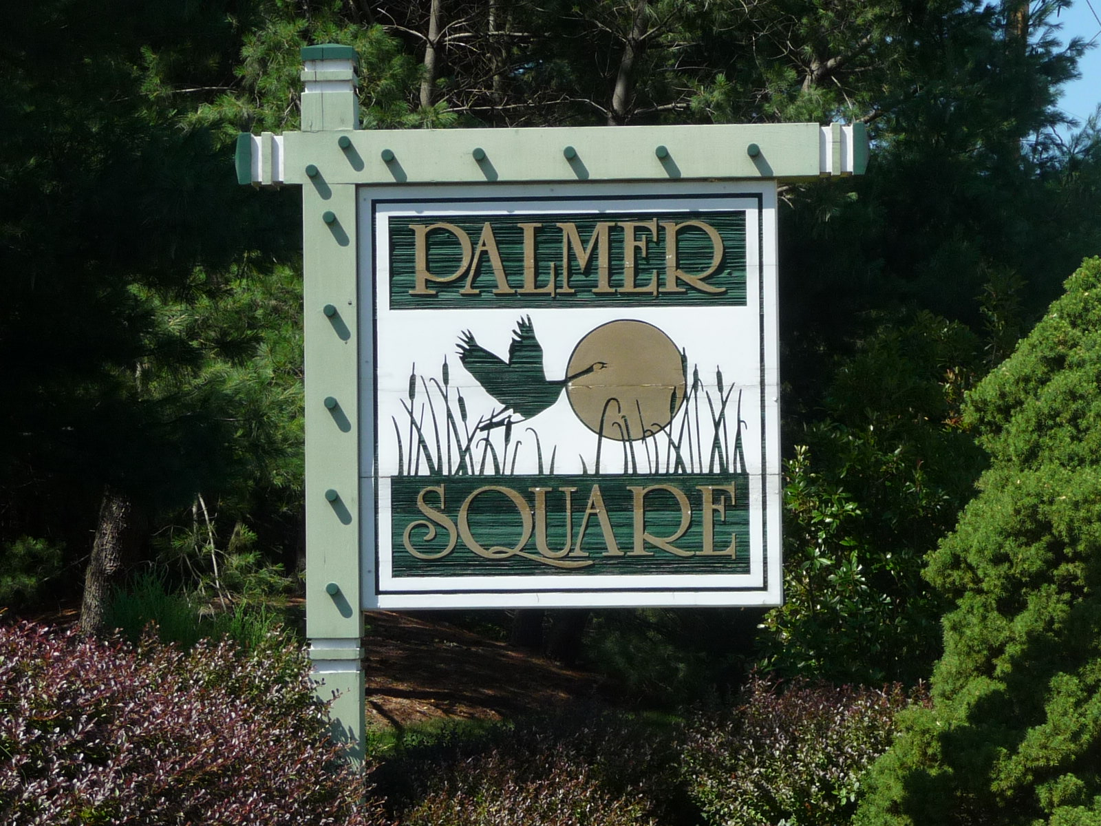 Palmer Square condominium is located off of Palmer Ave in Holmdel NJ