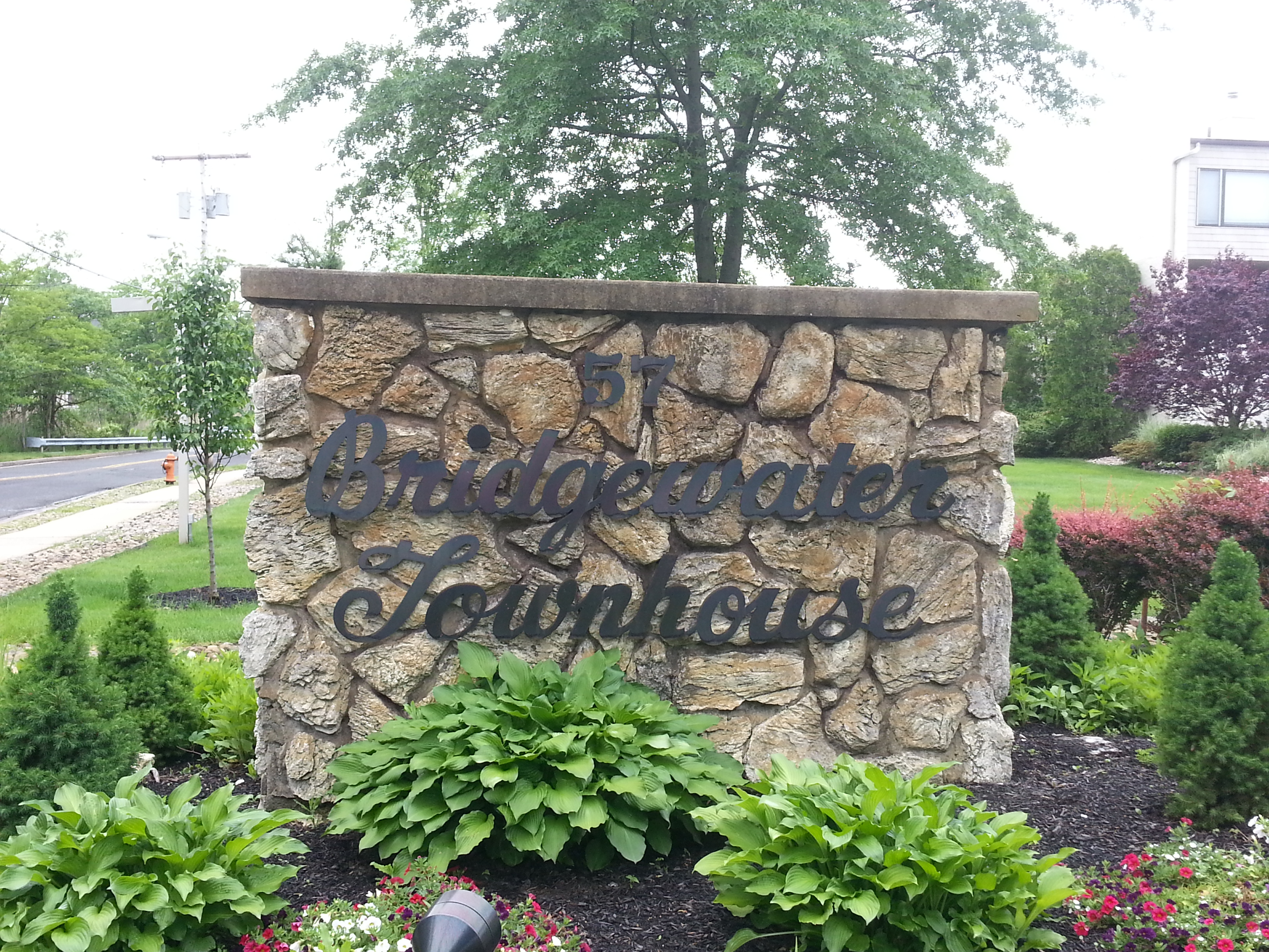 Bridgewaters, located at 57 Bridgewaters Dr., Oceanport, is a waterfront community of 24 townhouses.