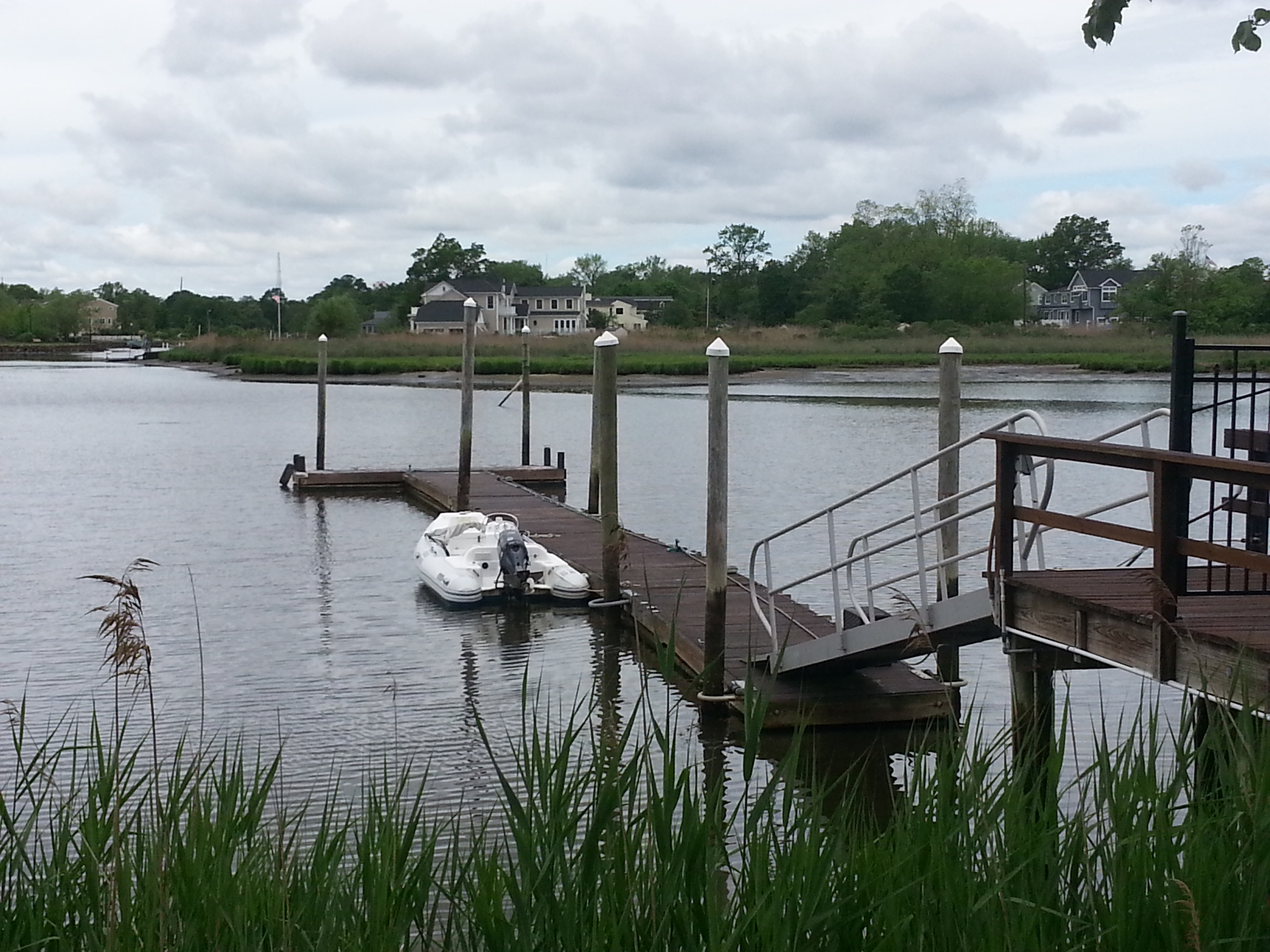 Bridgewaters has a community dock where residents can moor a boat.