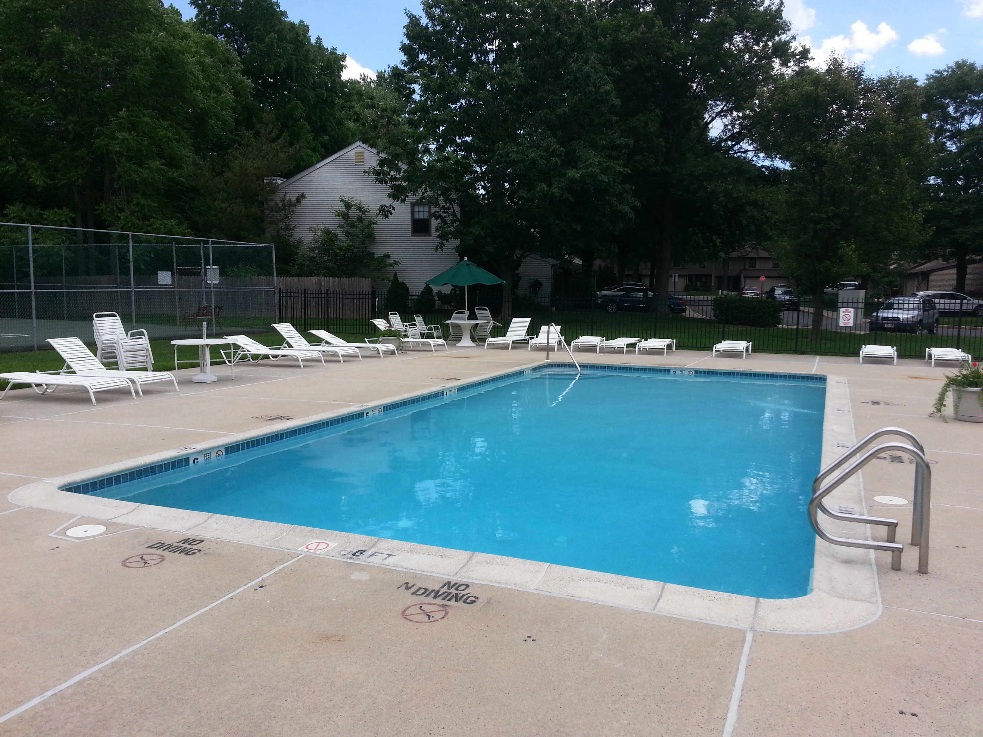 Kimberly Woods has a beautiful community pool.