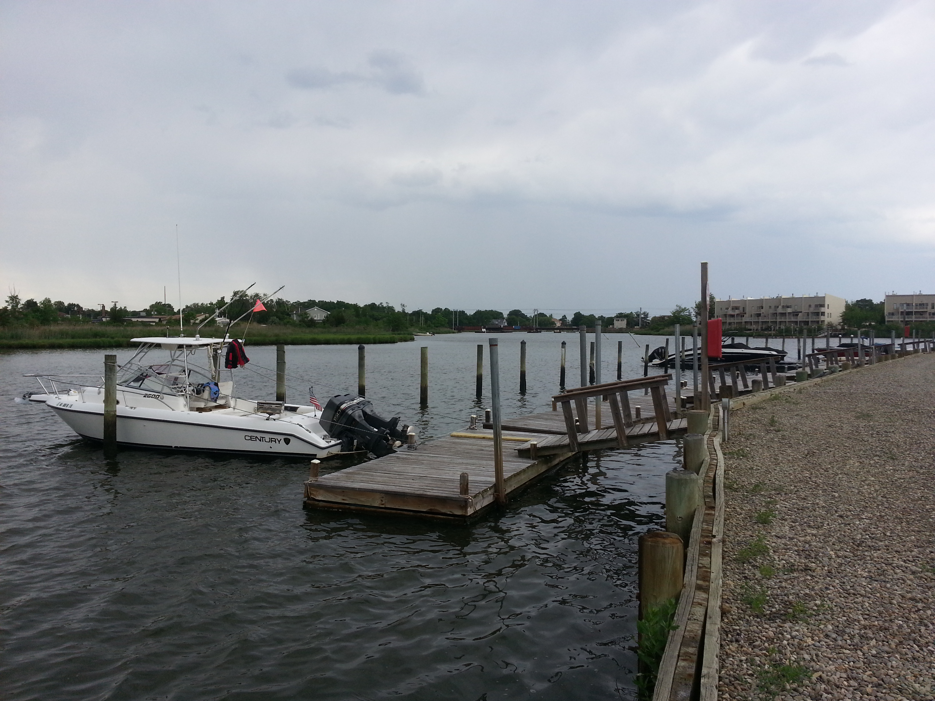 Each resident gets a boat slip in Harbor Pointe Condominium