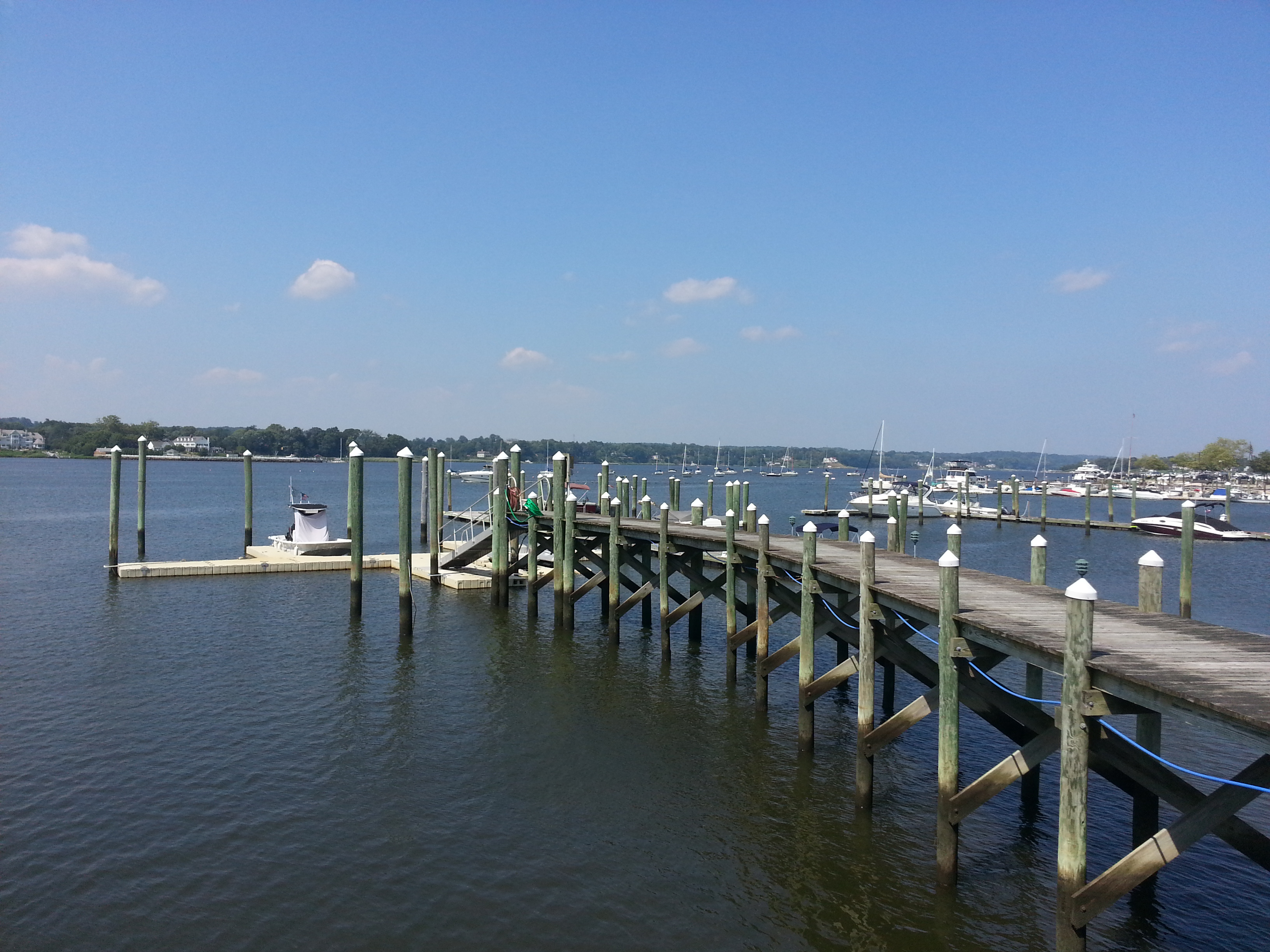 Located on the Navesink River, Corinthian Cove has a boat dock with deeded slips for some units.