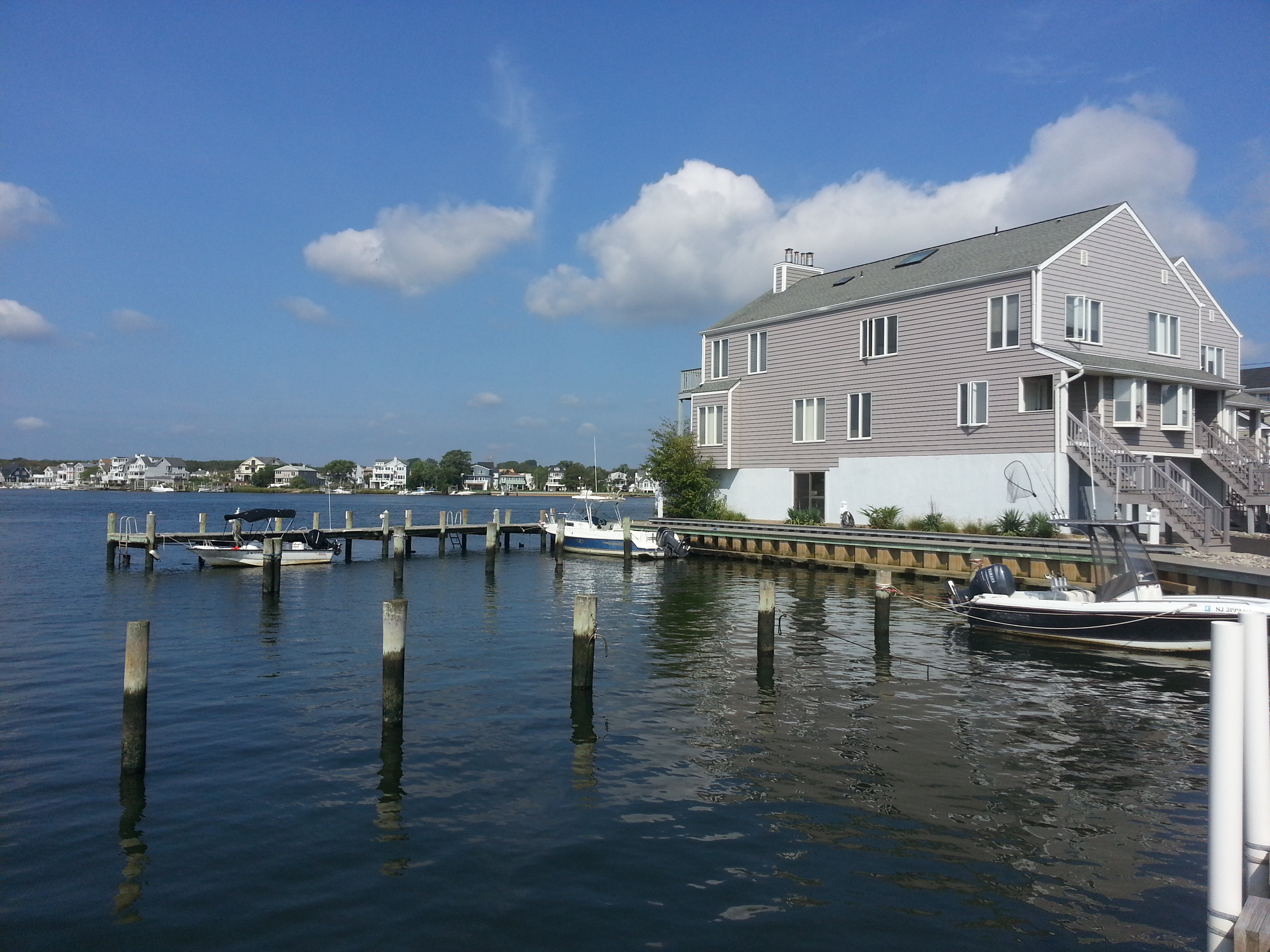 The Waterways, located on the Shrewsbury River, has a dock for residents' boats.