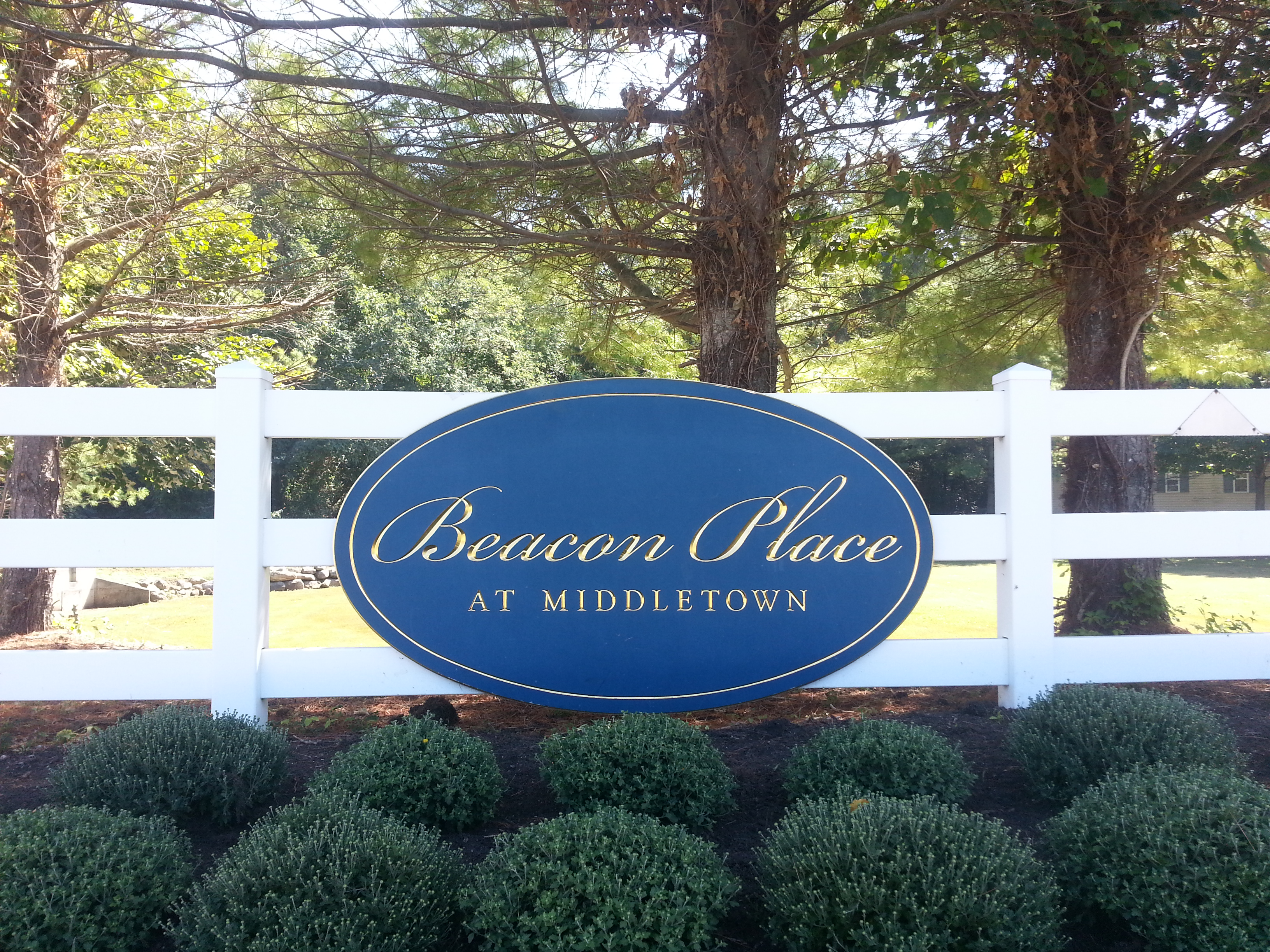 Beacon Place is located on Wedgewood Circle, right off of Rte. 36 in Belford.