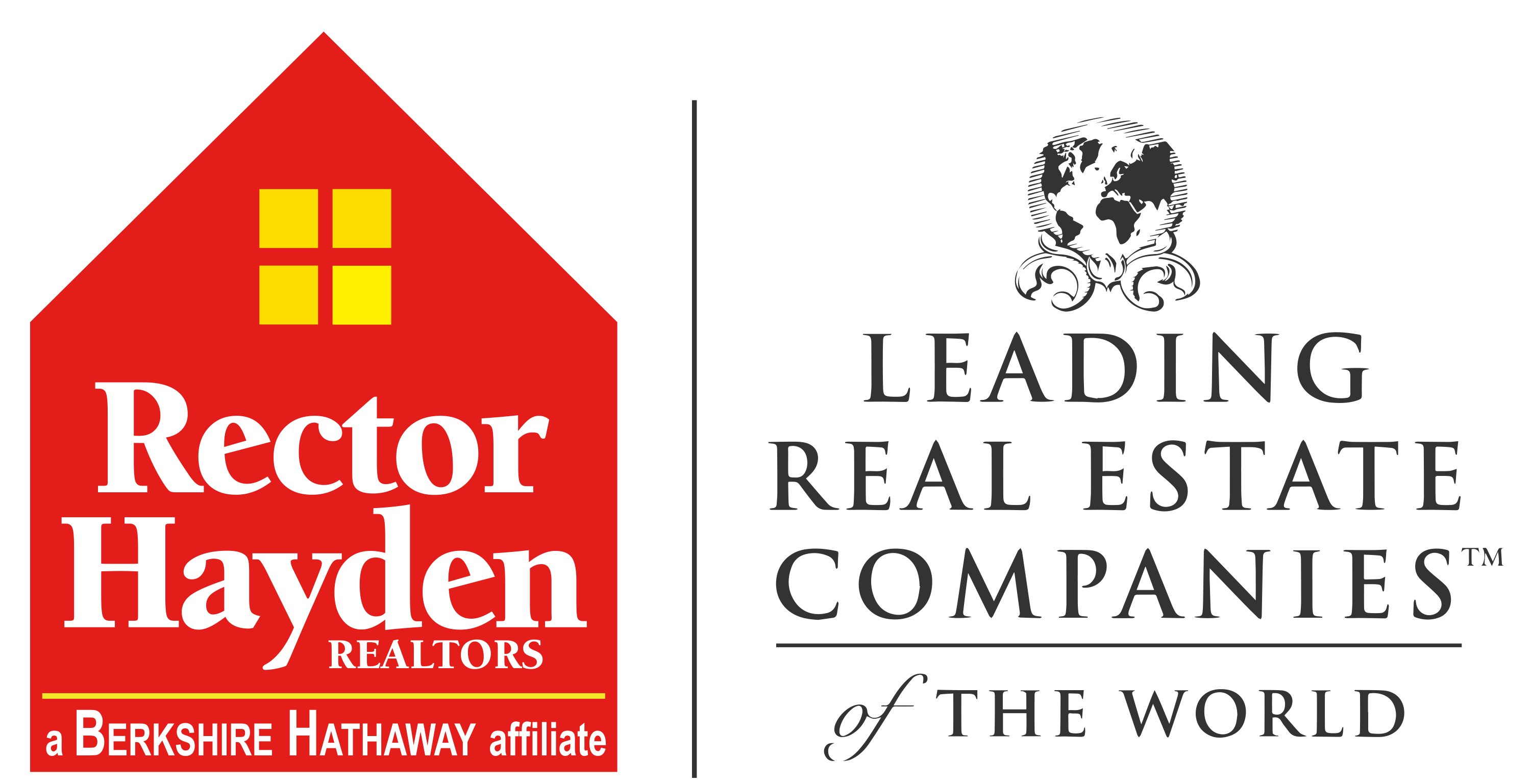 Logo - Rector Hayden REALTORS a Berkshire Hathaway Affiliate and Leading Real Estate Companies (Trademark) of the World