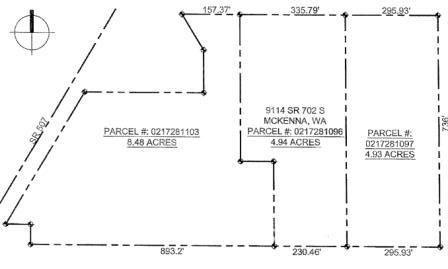 9016 WA-702 S, McKenna, WA 98558