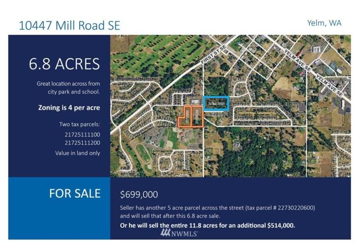 10447 Mill Road SE, Yelm, WA 98597